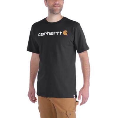 CARHARTT - CORE LOGO WORKWEAR SHORT-SLEEVE T-SHIRT