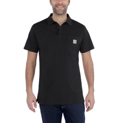 CARHARTT FORCE® COTTON DELMONT POCKET POLO
