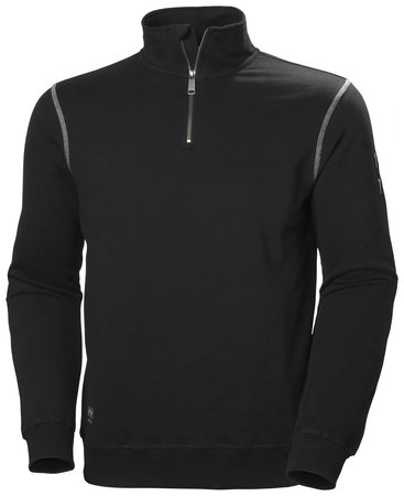 HELLY HANSEN OXFORD HALF ZIP SWEATSHIRT