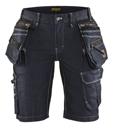 BLAKLADER SHORT DENIM STRETCH X1900