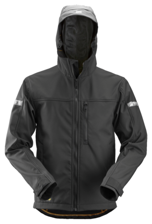 SNICKERS SOFT SHELL JACK MET CAPUCHON